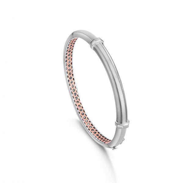 Stunning platinum bracelets for men 20PTMOK02