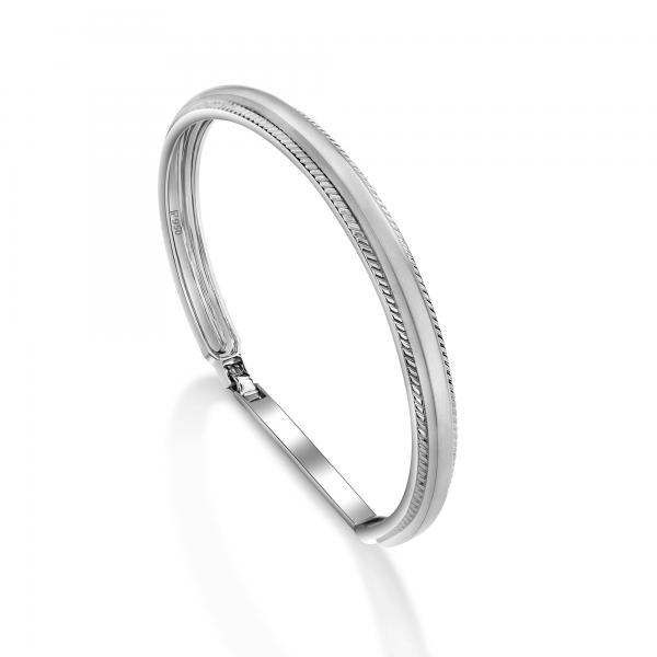 Stunning platinum bracelets for men 20PTMPK06