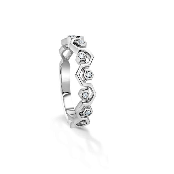 Gorgeous Platinum Ring for Women 20PTLBU22