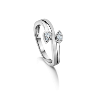 Gorgeous Platinum Ring for Women 20PTLBP38