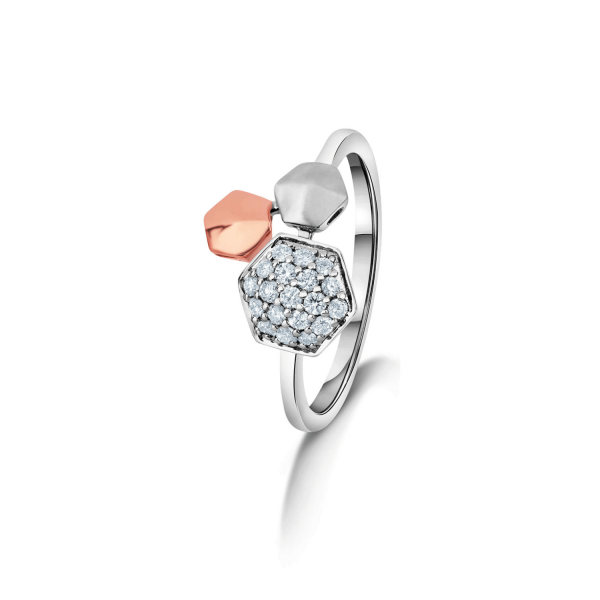 Gorgeous Platinum Ring for Women 20PTLBKG43