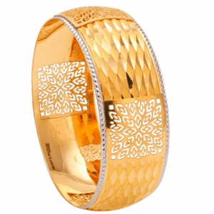 Dazzling Gold Bangles for Women A101375