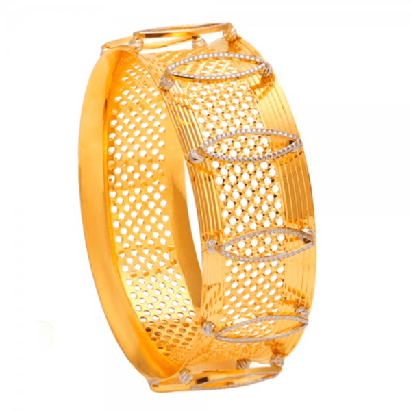 Dazzling Gold Bangles for Women A101378