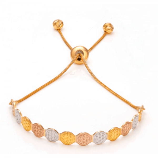 Dazzling Gold Bracelet for Women AD101444