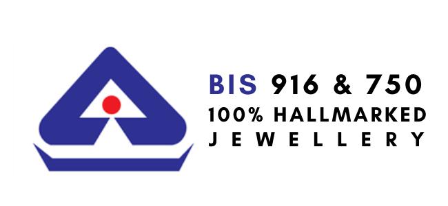 BIS 916 & 750 100% Hallmarked Jewellery