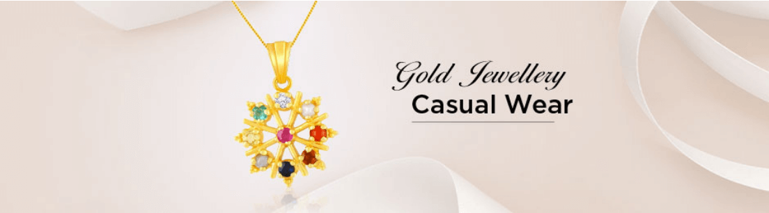 Casual Wear Gold Jewellery Collection