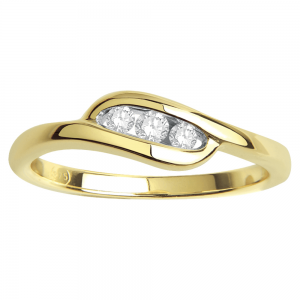 Gorgeous Casual Diamond Rings for Women DEI215Y