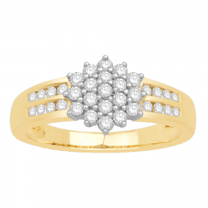 Gorgeous Casual Diamond Rings for Women DEI948Y