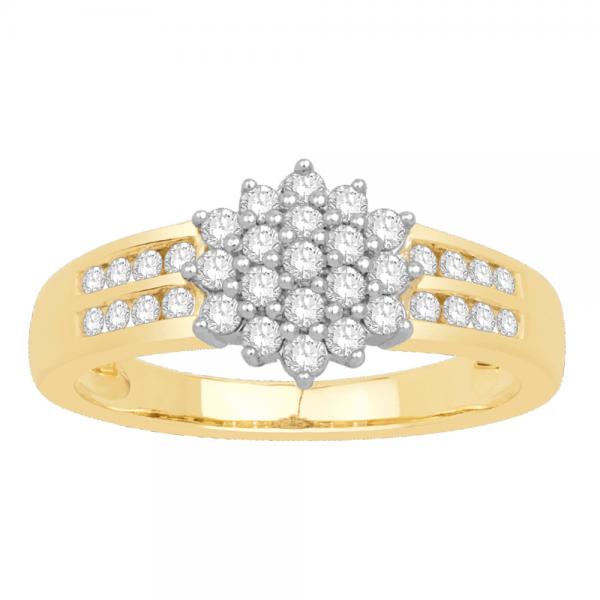 Gorgeous Casual Diamond Rings for Women DEI948Y