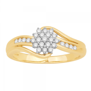 Gorgeous Casual Diamond Rings for Women DEI990Y