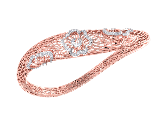 Rose Gold Diamond Bracelet DIM0480