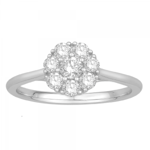 Gorgeous Casual Diamond Rings for Women DKF599W