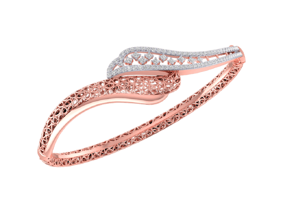 Rose Gold Diamond Bracelet DNI159