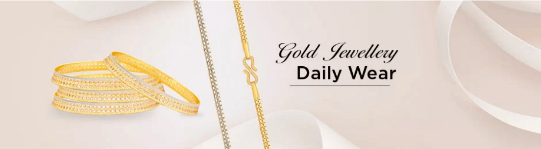 Daily Wear Gold Jewellery Collection