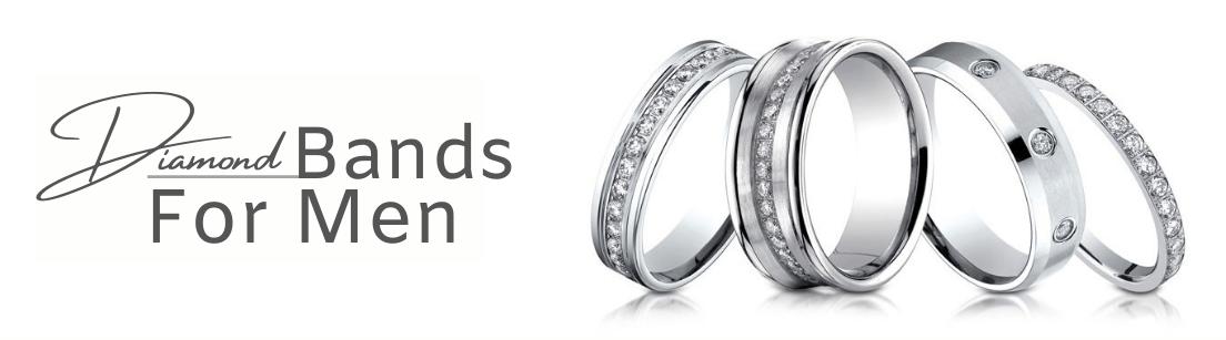Diamond Bands for men
