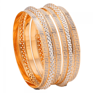 Dazzling Gold Bangles for Women E101209