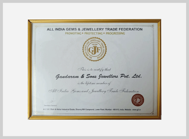 GJF-certificate