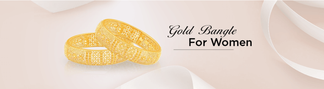 Gold Bangle for Women