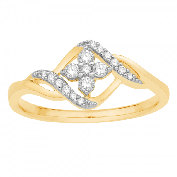 Gorgeous Casual Diamond Rings for Women IME011YR