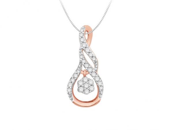 Diamond Pendant For Women IME060PR