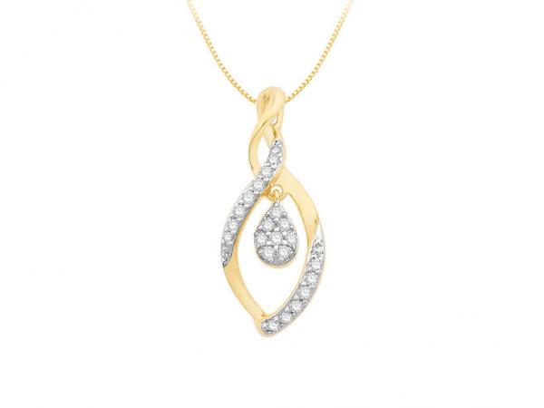 Diamond Pendant For Women IME062YR