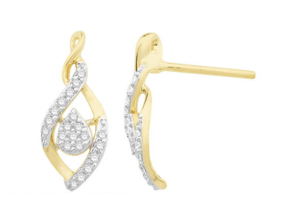 Diamond Earring for Women IME063V