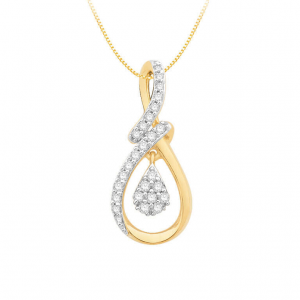 Diamond Pendant For Women IME066YR