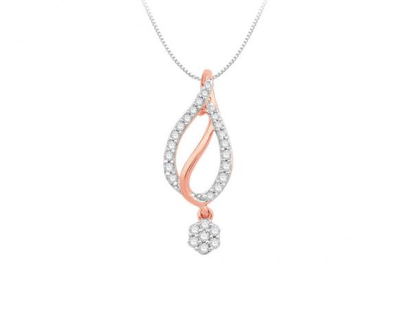 Diamond Pendant For Women IME070PR