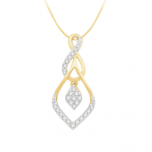 Diamond Pendant For Women IME072YR