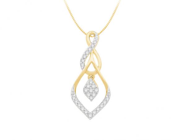Diamond Pendant For Women IME072YR