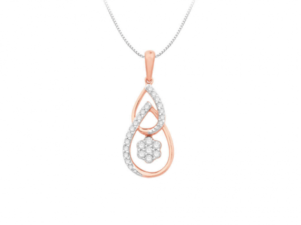 Diamond Pendant For Women IME076PR