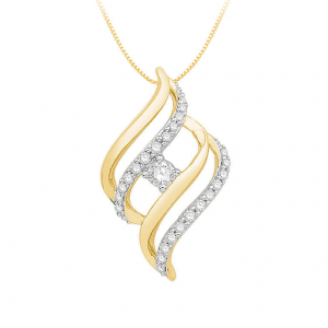 Diamond Pendant For Women IME249YR