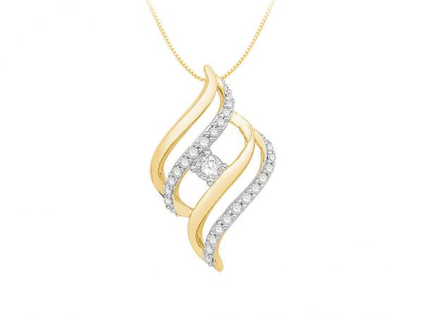 Diamond Pendant For Women IME249YR