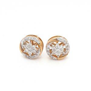 Diamond Tops Earrings For Women DT471