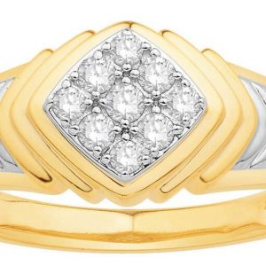 Men Traditional Diamond Engagement Ring IME665