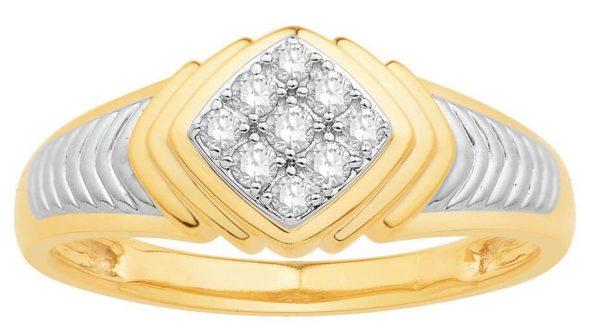 Men Traditional Diamond Engagement Ring IME665