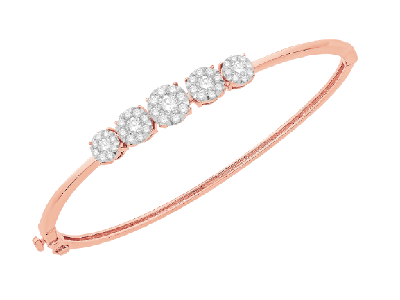 Rose Gold Diamond Bracelet IME2548