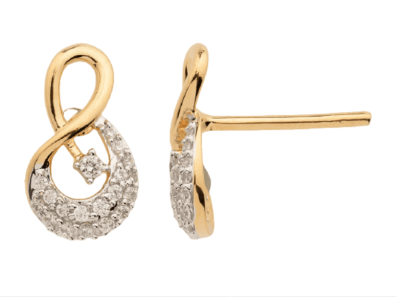Diamond Earring for Women IME253YR