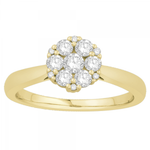 Gorgeous Casual Diamond Rings for Women JAN1198Y