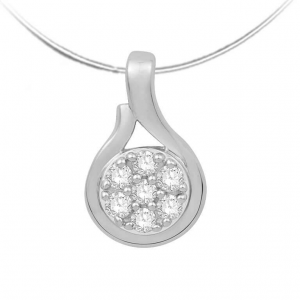 Diamond Pendant for Women JEU1985W