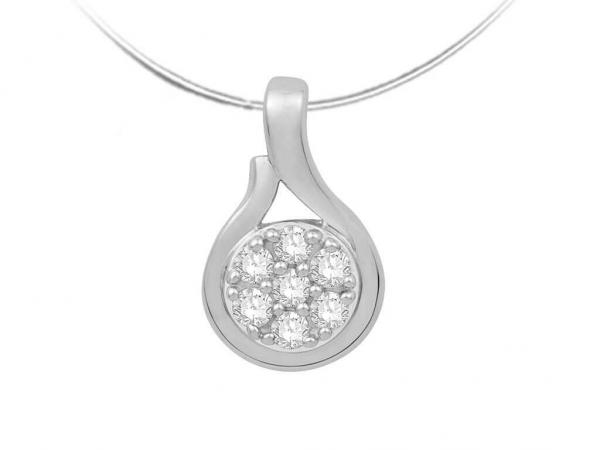 Diamond Pendant for Women JEU1985W