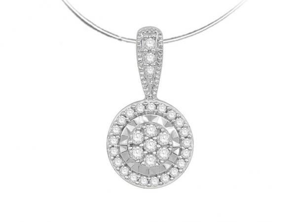 Diamond Pendant for Women JEU2089W