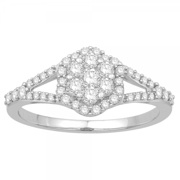 Gorgeous Casual Diamond Rings for Women JFG662W