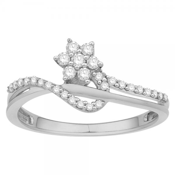 Gorgeous Casual Diamond Rings for Women JFG1265W