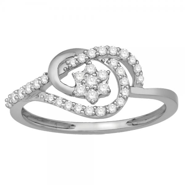 Gorgeous Casual Diamond Rings for Women JFG1266W