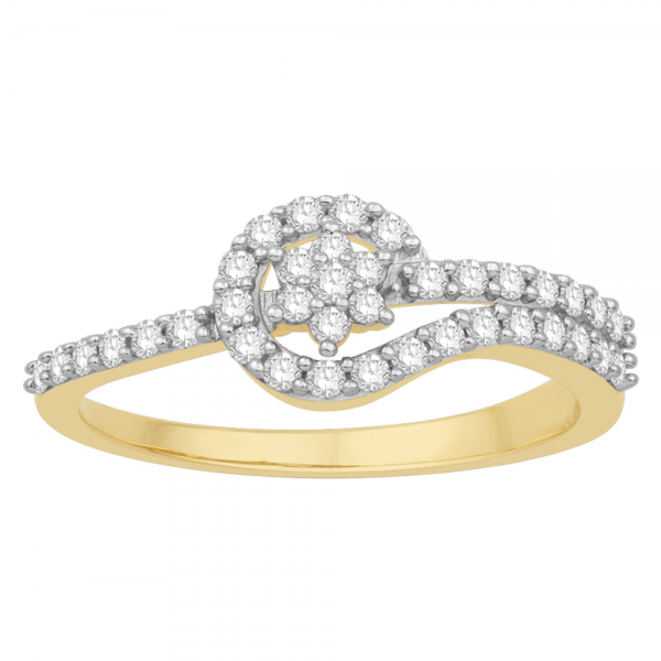 Gorgeous Casual Diamond Rings for Women JFG1272YR