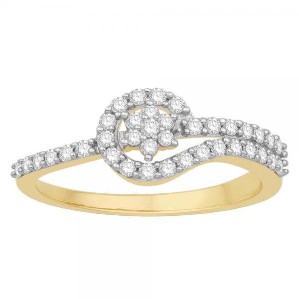 Gorgeous Casual Diamond Rings for Women JFG1272YR