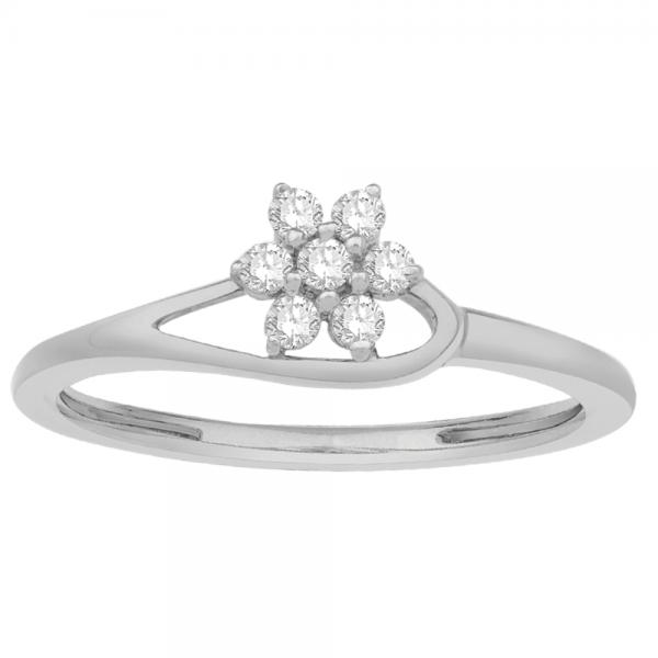 Gorgeous Casual Diamond Rings for Women JFG1296W
