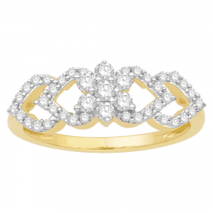 Gorgeous Casual Diamond Rings for Women JFG1304YR