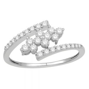 Gorgeous Casual Diamond Rings for Women JFG1344W